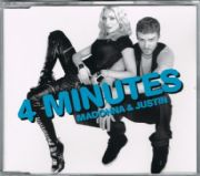 4 MINUTES - UK CD SINGLE (W803CD1)